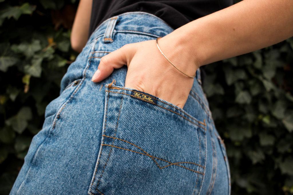 trouver un jean en friperie